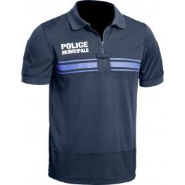 Polo Police Municipale GPB P.M. ONE bleu