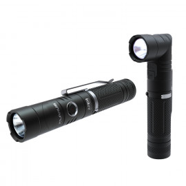 Lampe tactique rechargeable AR10 LED - 1080 Lumens