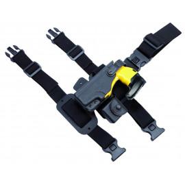 Plateforme de cuisse 2 sangles pour holster et porte-cartouche Taser™ X26P et X2
