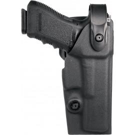 Holster droitier Vegatek Duty VKD8 noir pour GLOCK 17/19/22/23/25/31/32/37/38